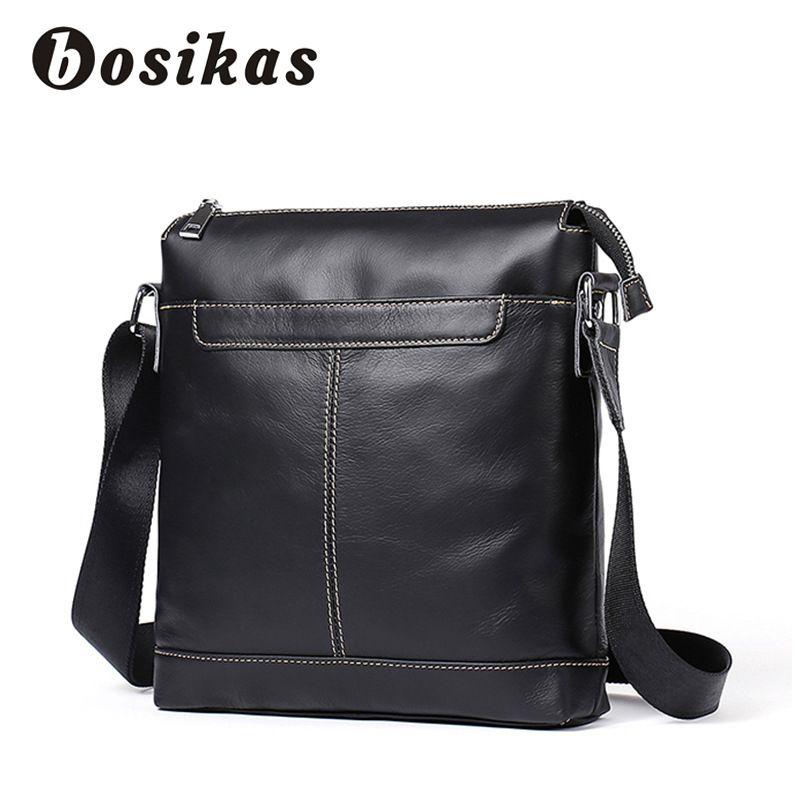 wholesale Men Genuine Leather Bag Fashion Leather Crossbody Bag Shoulder Men Messenger Bags Small Casual Designer Handbags Man Bag