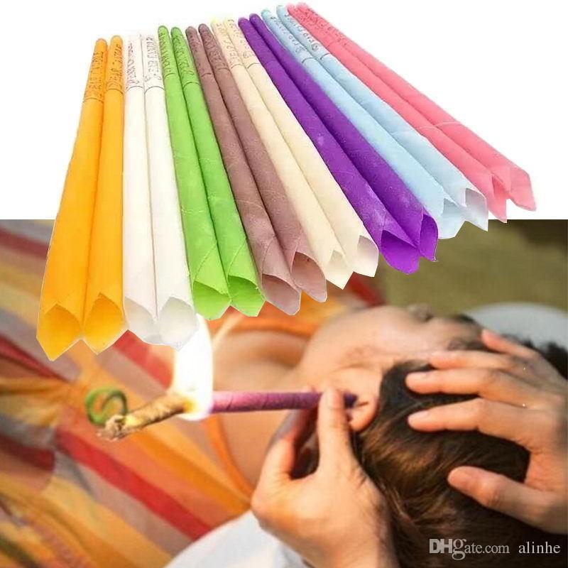 100 natürliche ohrkerze reines bienenwachs thermo ohrentherapie gerade stil indiana duftkerzen zylinder für ohr pflege versandkostenfrei