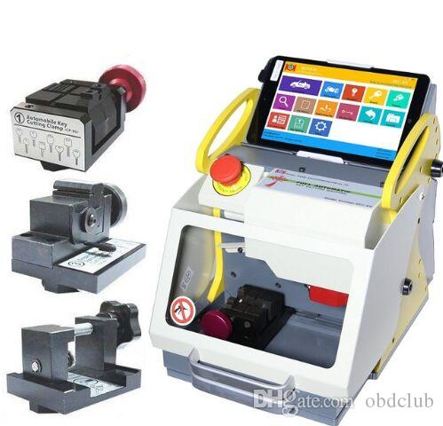 Nouvelle machine automatique de découpe de clés SEC-E9 Portable Smart Duplicate Car Cutting Machine SEC