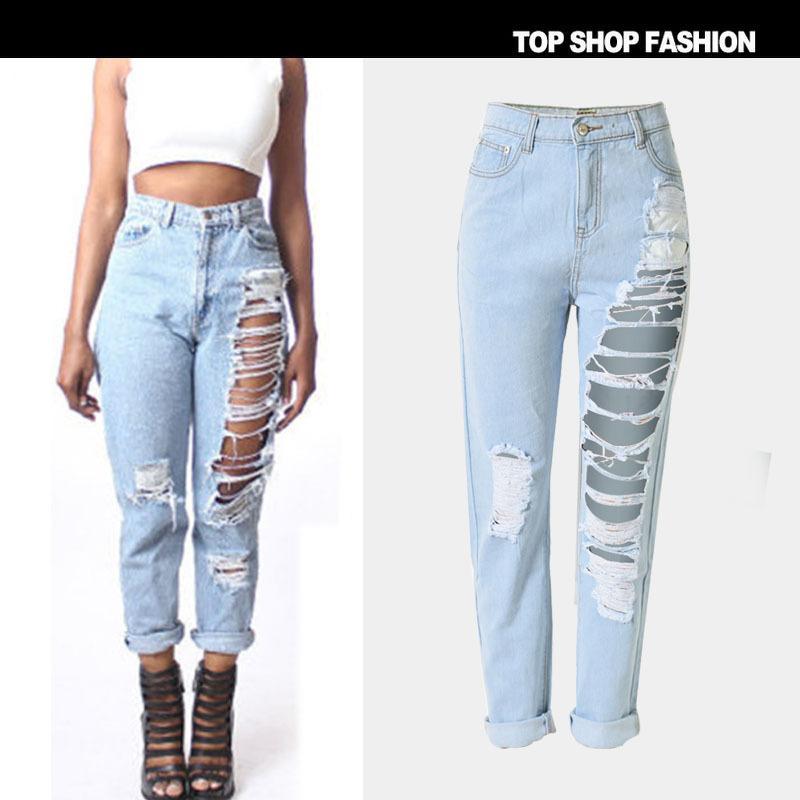 Compre Hot Money Womens Wear Jeans Jeans Sueltos Nueve Pares De Pantalones Jeans Para Mujer Pantalones Y Pantalones Rectos A 18 17 Del Ellen Zeng Dhgate Com