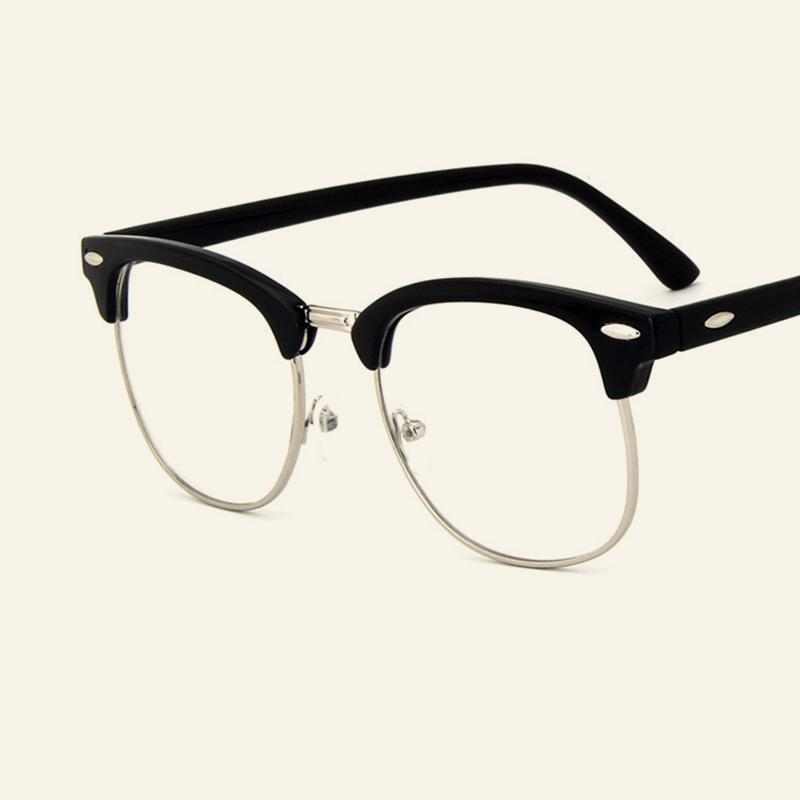 Hot Sale Classic Vintage Glasses Frames Metal Points Optical Glasses Women And Men Myopia Spectacles Trendy Eyewear Frame Goggle