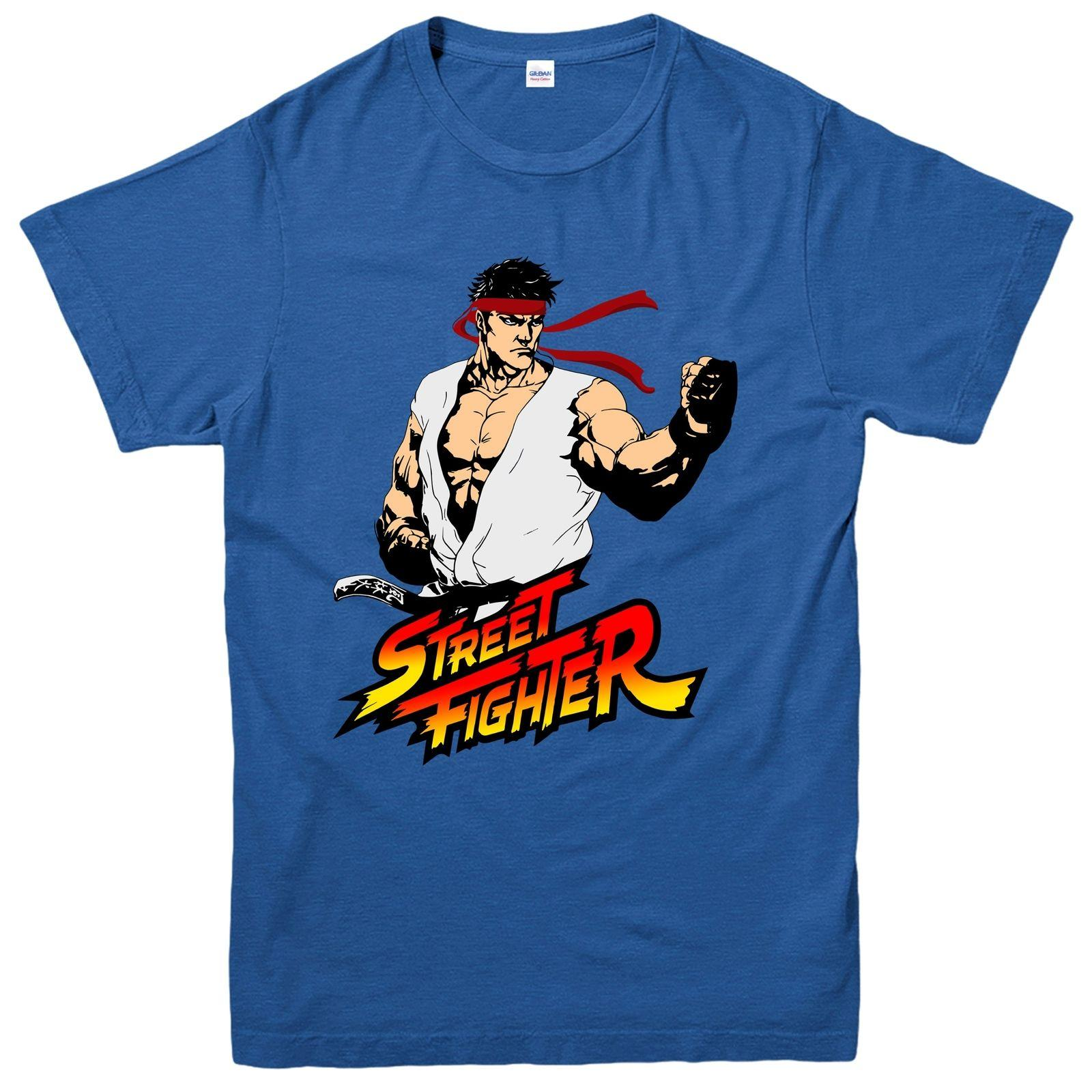 Ryu Street Fighter T Shirt Fictional Super Fighter Video Game Tee Top T Shirt Design Template Funny T Shirt From Xsy12tshirt 15 09 Dhgate Com