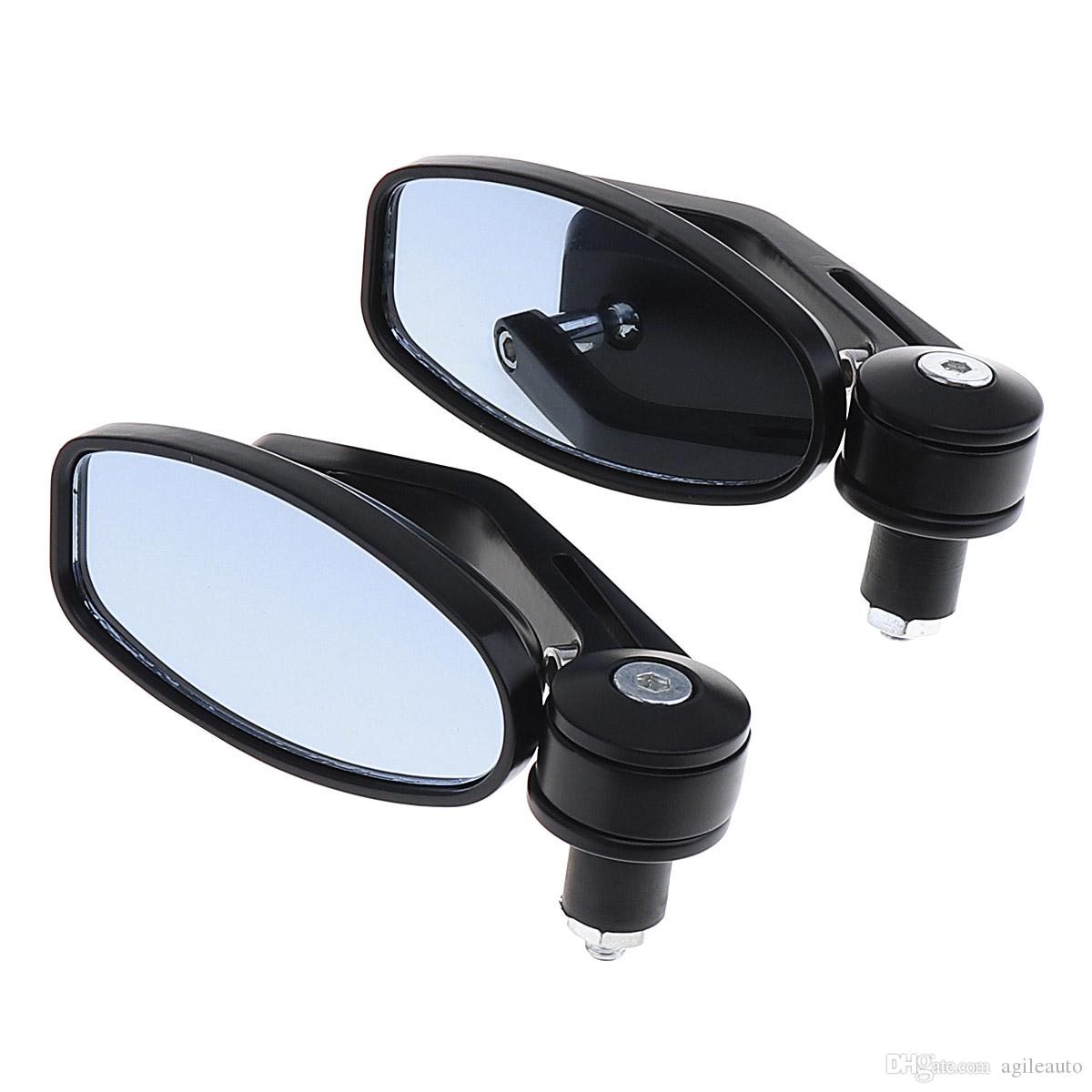 2PCS 22MM تعديل جميع الألومنيوم الكرز 219 العالمي للدراجات النارية مرآة الرؤية الخلفية المرايا الجانبية للدراجات النارية MFF_20E