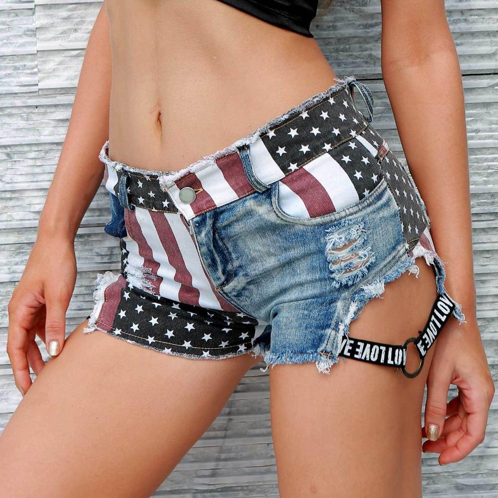 Vintage Ripped Hole Denim Spodenki Sexy Kobiety Skinny Jeans Booty Spodenki Letniej Dziewczyna Casual Hotpants Beachwear