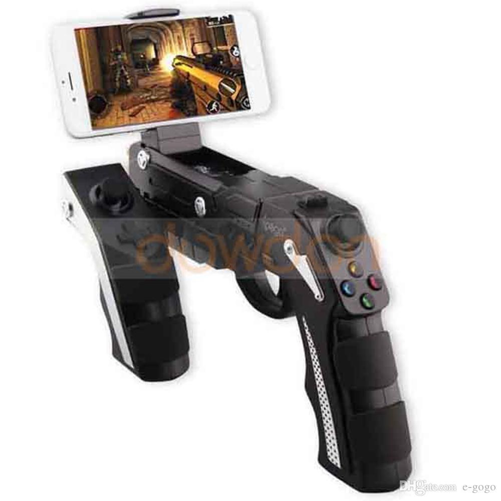 iPEGA PG-9057 Bluetooth 3.0 Kablosuz Oyun Denetleyicisi Joysticker IOS Android Smartphone Tablet TV için Gamepad Ahize