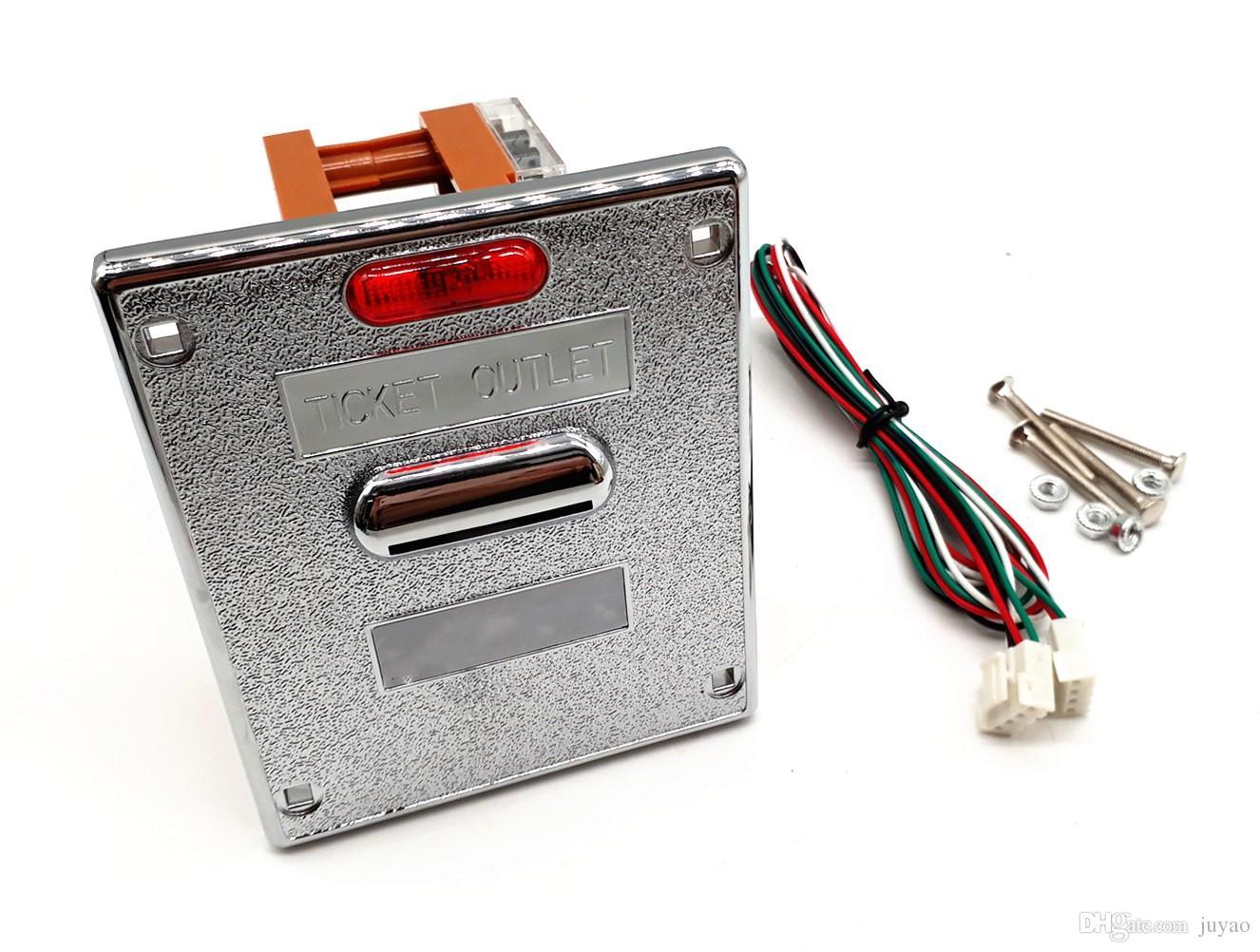 Remitente del dispensador de boletos de alta calidad para máquinas expendedoras de máquinas expendedoras de juegos de máquinas recreativas
