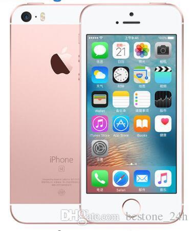 Original Unlocked Apple iPhone SE Cell Phone 4G LTE 4.0' 2GB RAM 16/64GB ROM A9 Dual-core Touch ID refurbishediphonese