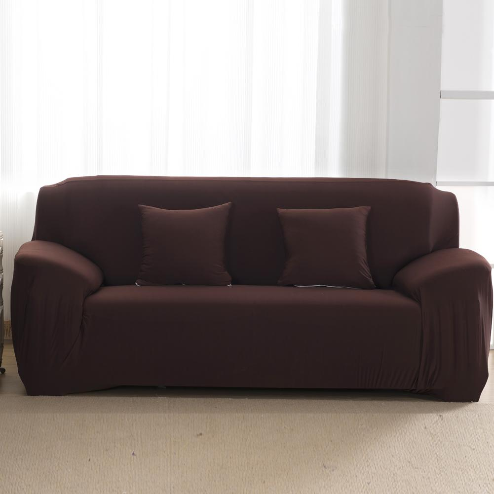 Solid Color Sofa Slipcovers Elastic Sofa Cushion Covers Washable Couch  Cover For Living Room 1/2/3/4 Seater Couch Slips Seat Covers Dining Room  Chairs ...