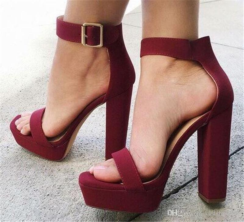 buy \u003e high heels thick heel, Up to 77% OFF
