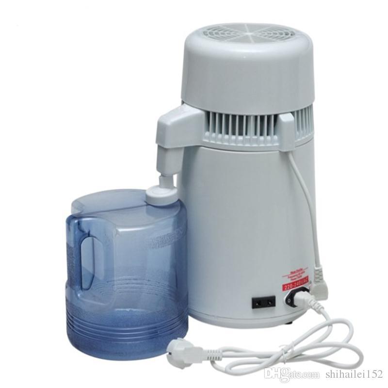 Distillatore dell'acciaio inossidabile famiglia macchina dell'acqua distillata 1L / H attrezzature mediche di depurazione delle acque acqua distillata