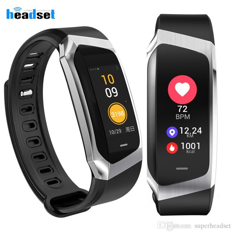 E18 водонепроницаемый Bluetooth Smart Watch поддержка сердечного ритма расход калорий кровяное давление с камерой для смартфонов