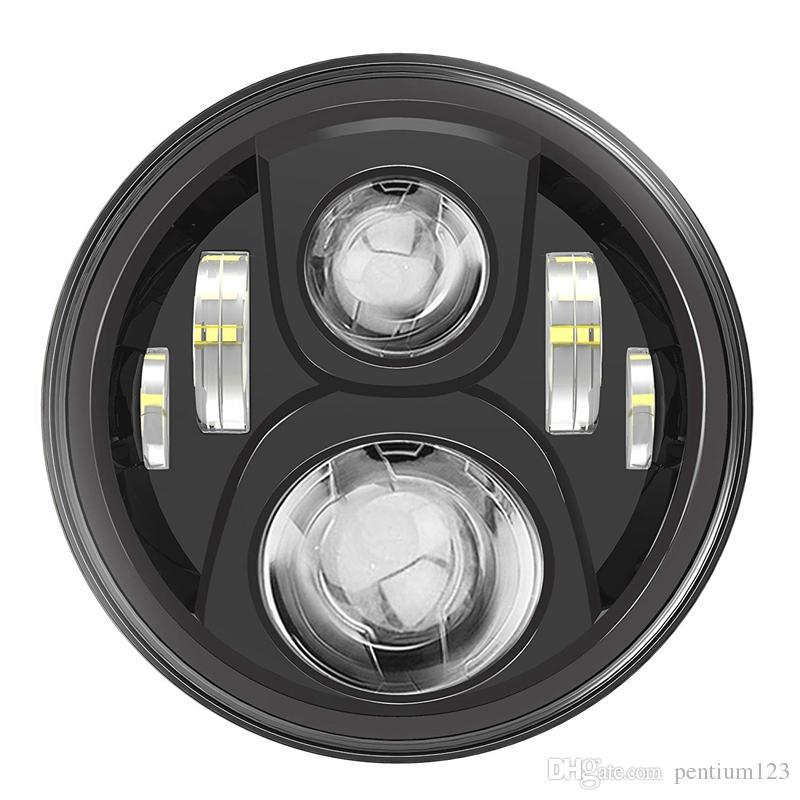 Para 1994-2013 Touring motocicletas proyector 7 pulgadas plugplay LED H4 luz de cabeza lámpara de conducción con halo