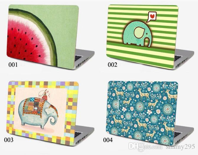 Universal DIY laptop skin 13 inch 14 inch 15.6 inch computer sticker notebook PC protector with various pictures free shipping 2018 new hot