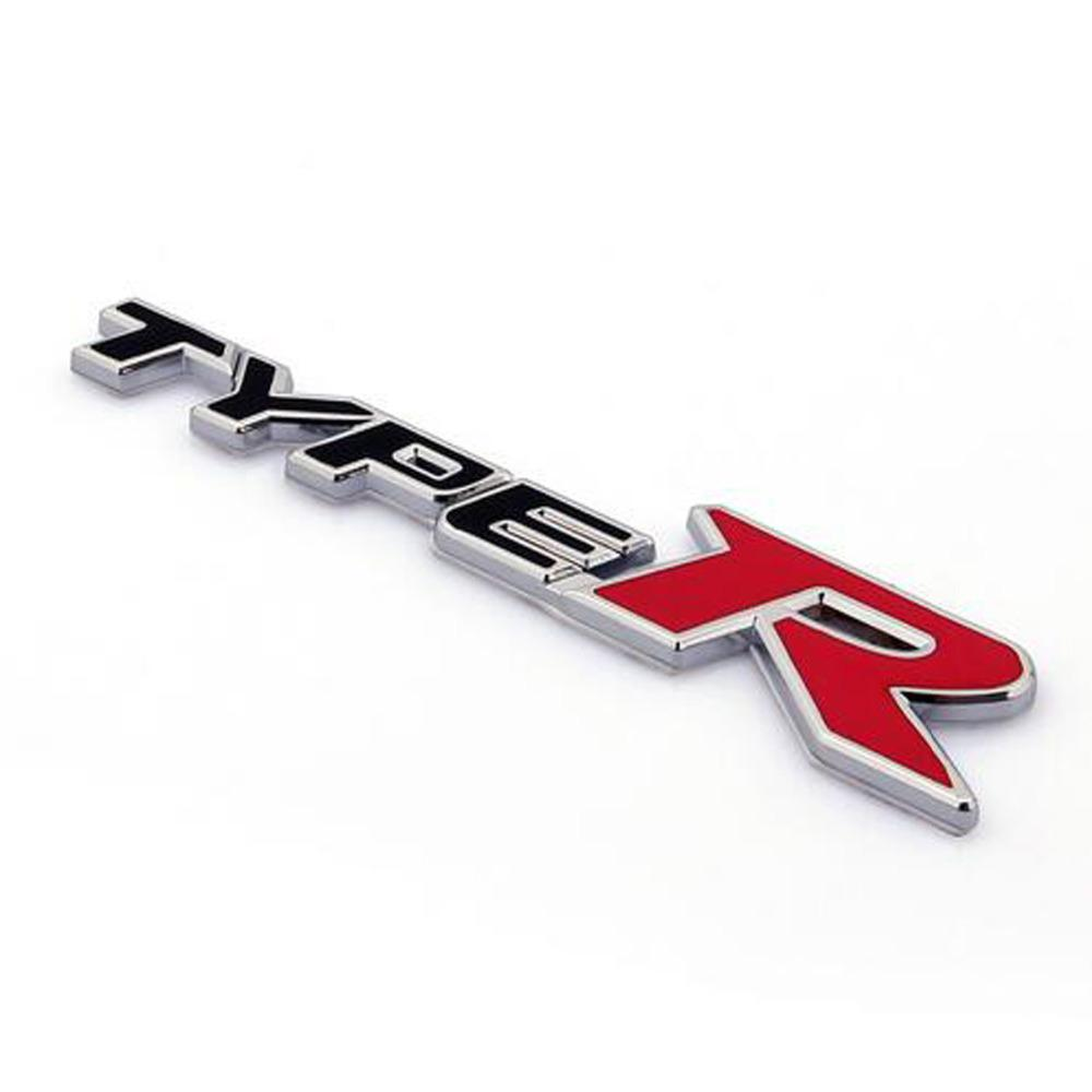 2019 3D Metal TYPE R Car Sticker Emblem Badge For Universal Cars Moto Bike  Decorative Accessories From Sunny16888, &Price