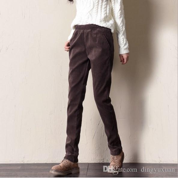 Ropa Pantalones Chums Pantalones De Pana Para Mujer