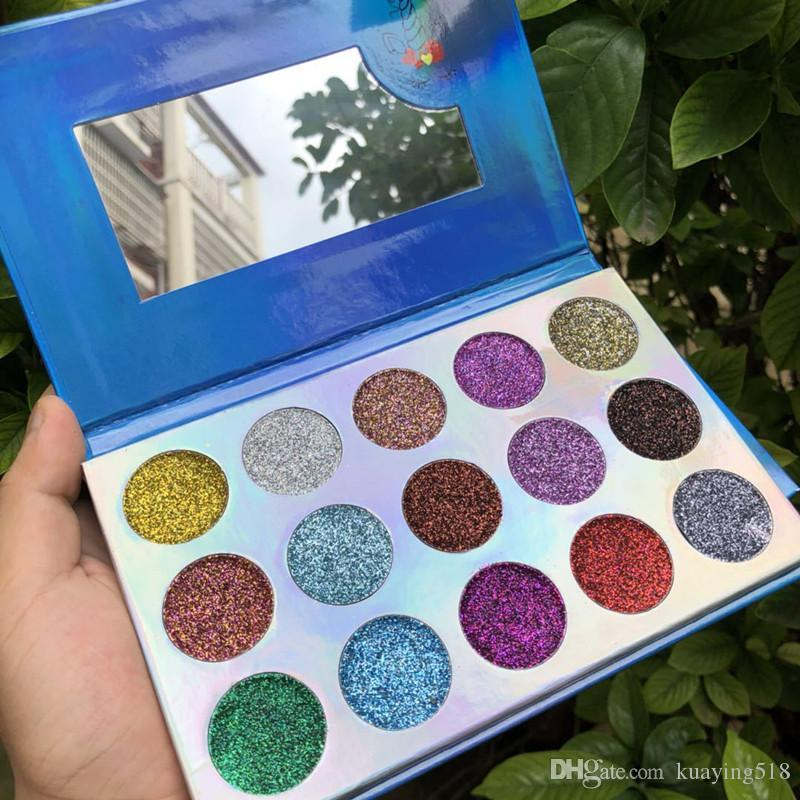 DHL free New Arrival Beauty Creations Eyeshadow Palette Beauty Creation Eye Shadow 15 Colors Eyeshadow Best Quality