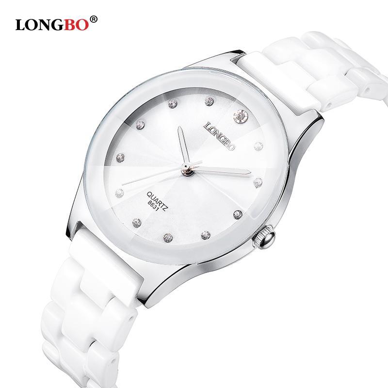 Luxuswasserbeständige einfache gelesene Sport-Frauen-keramische Armbanduhr, freies Verschiffen-hochwertige Dame Dress uhrenS914