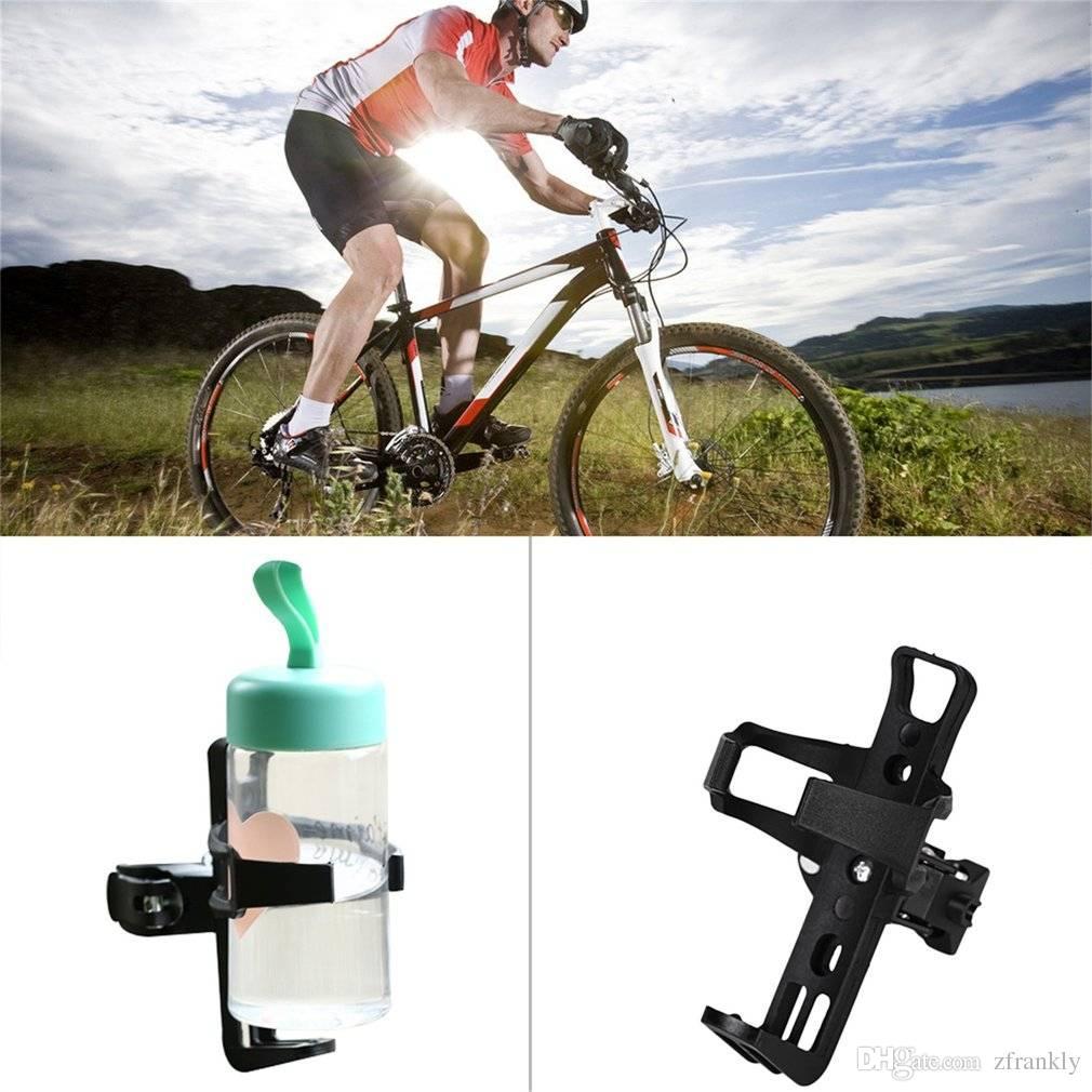 Neue schwarz Radfahren Fahrrad Trinken Wasserflasche Tasse Reise Becher Halter Montieren Cage Polycarbonat Durable, leicht
