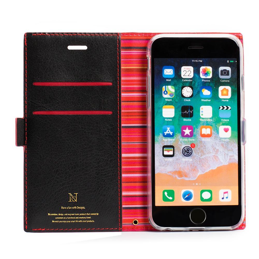 Regenbogen Streifen Leder Brieftasche Flip Fall für Huawei P10 P20 Lite Mate10 Lite Honor9 Honor10 Lite Fall