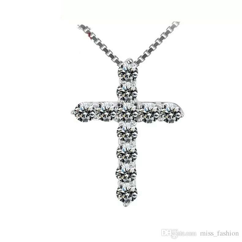 Mulher colar de artigos de prata colares de jóias de cristal pingente colares declaração encantos enthic encantos do vintage novo colar