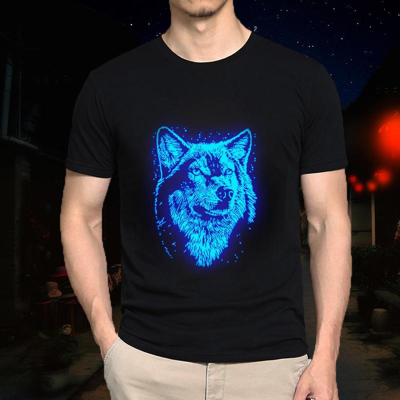 Nouveaux enfants Adulte Été Fluorescent Assassins Vente Chaude Creed T Shirt Mâle / Hommes Casual Luminous Enfants Court Fitness T-shirt S-5XL