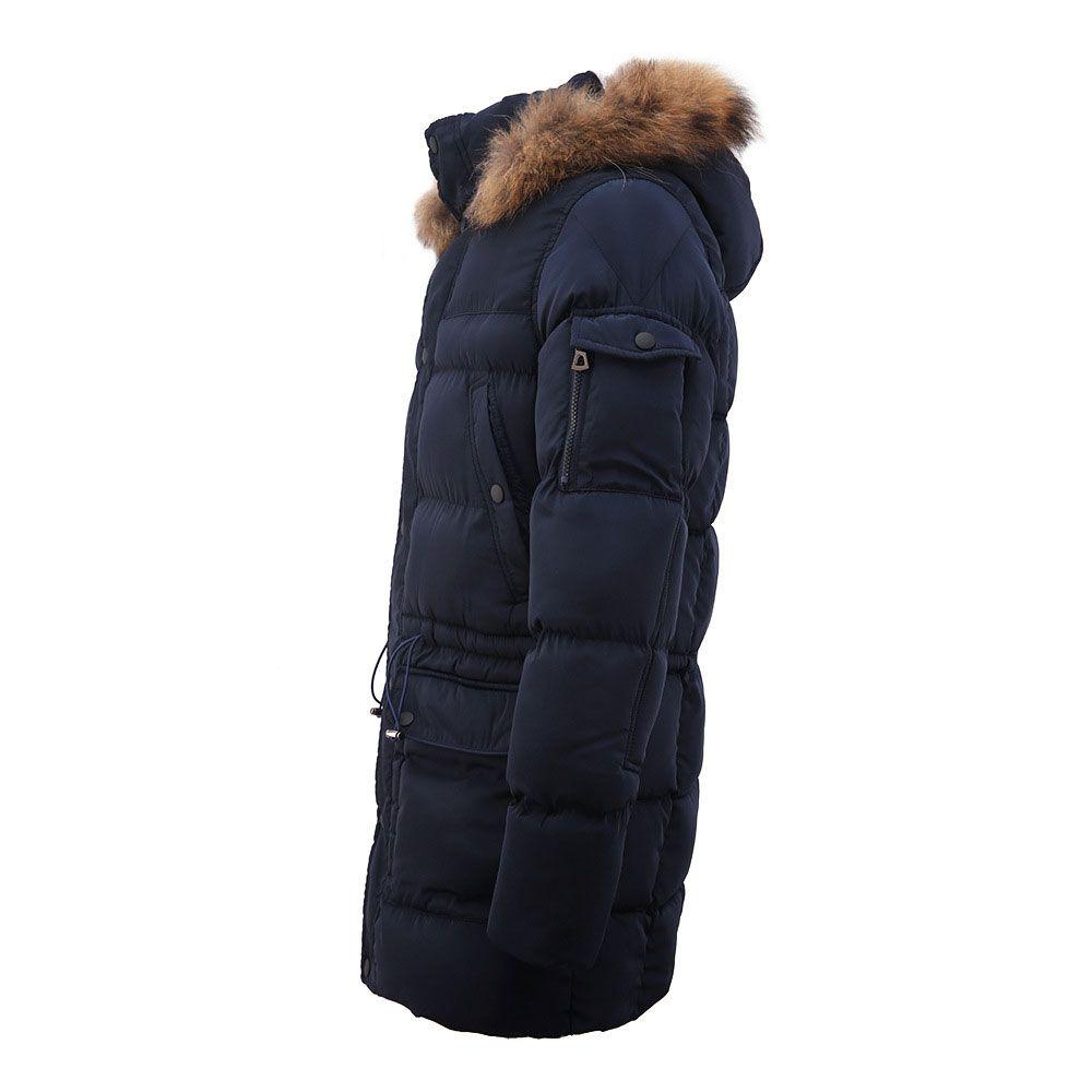 Großhandel Slim Fit Lange Kapuze Parkas Männer Dicke Warme Herren Winterjacke 2018 Neue Modemarke Kleidung Mann Mantel Pelzkragen Mäntel Von Macloth,