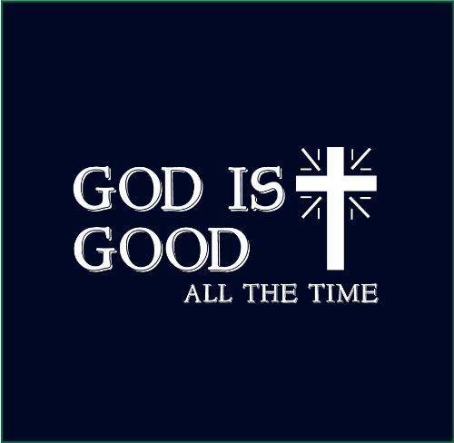8a286d7f78 God Is Good All The Time Christian T-shirt T-shirt Novelty Cool Tops Men's  Short Sleeve Tshirt