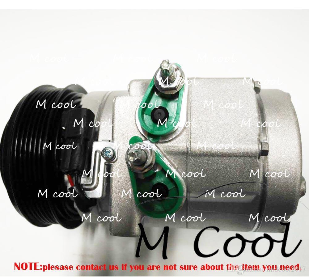 For Ford F-150 Expedition Lincoln Navigator A//C Compressor w// Clutch HALLA NEW