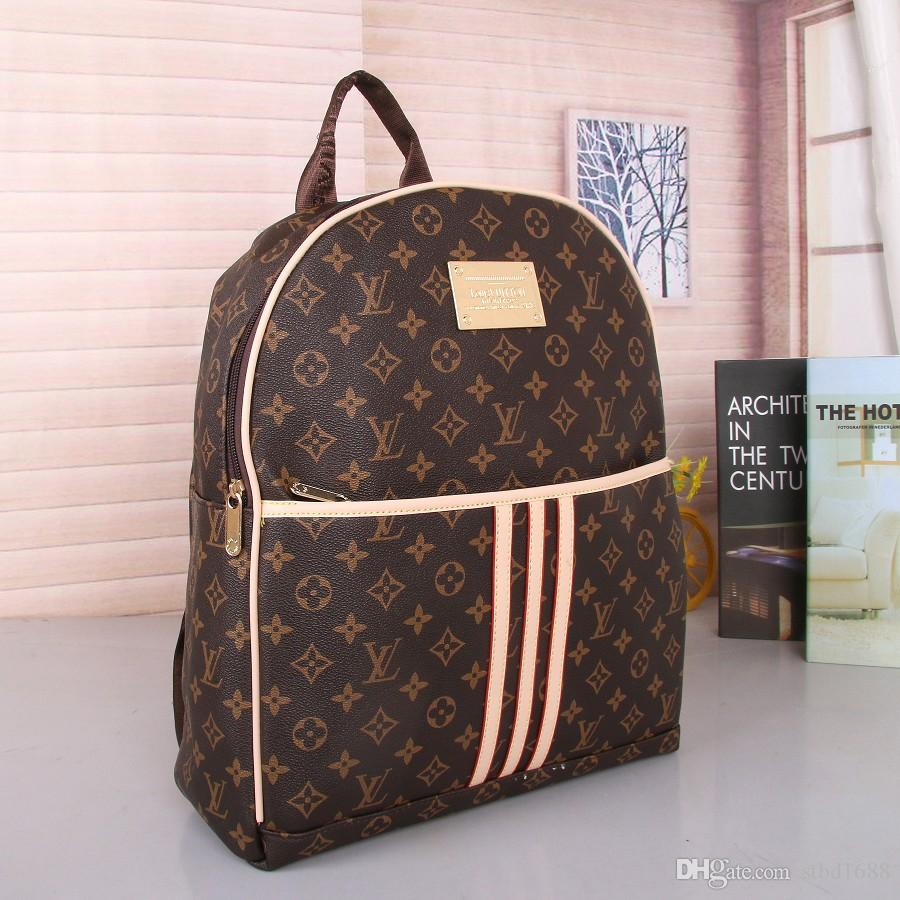 2019 Hot Sell Classic Fashion bags brand designer Women Men Backpack Style Bag Unisex Shoulder Handbags Travel hiking bag #0818