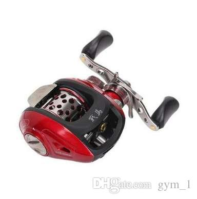 Haibo steed 51/50MS baitcasting fishing reel,magnetic brake,6.5:1,left/right handed,free shipping
