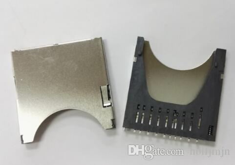 20 шт. SD комбинированная дека с пружинным слотом для карт памяти SD-карта слот для карт памяти с номером отслеживания
