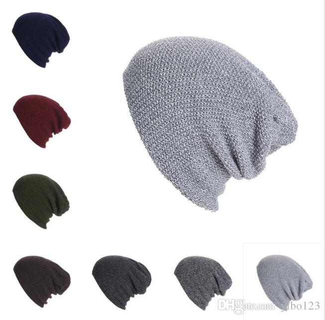 2018 New hot sale Striped hats, men's and women's warm wool caps, European and American Outdoor knitted caps