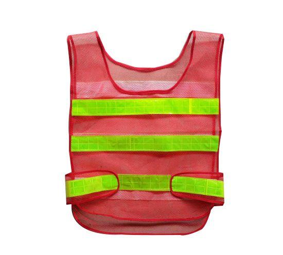 Emniyet Giyim Yansıtıcı Yelek Içi Boş ızgara yelek yüksek görünürlük Uyarı güvenlik çalışma Inşaat Trafik yelek LLFA