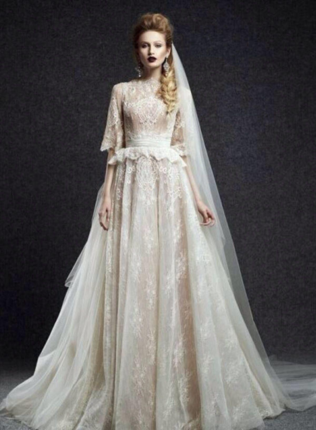 Großhandel 2018 Elegantes Brautkleid Bateau Neck Applique A Line ...