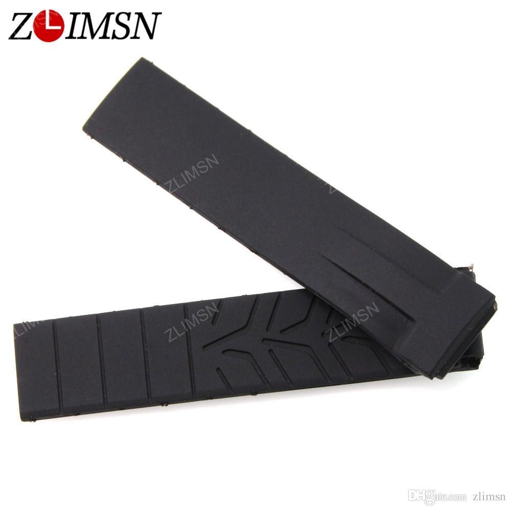 Para Tissot Watchband Homem 20mm Preto Multicolor Silicone Rubber Diver Assista Banda Strap com Aço Inoxidável Deployment Clasp para T048