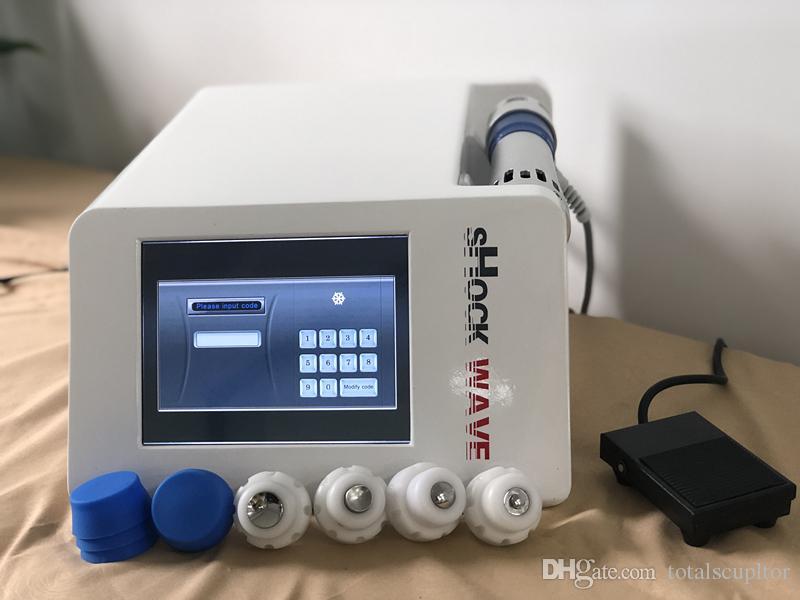 Equipamento portátil da fisioterapia da onda de choque eletrônico com baixa intensidade para a terapia dysfuntion eréctil