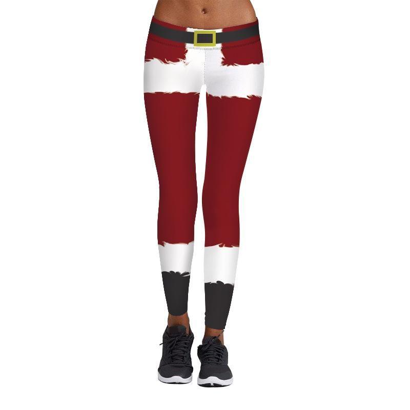 Christmas Running Leggings.2019 New Cosplay Christmas Running Tights Leggings Sexy High Waist Slim Sports Legging Yoga Legging Jogging Pants Exercise Trousers From Earmy 35 12