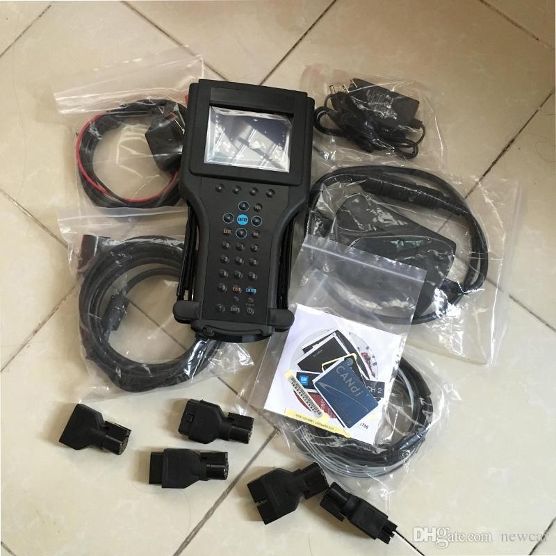 Tech2 tanı aracı için G-M / SAAB / OPEL / SUZUKI / ISUZU / Holden g-m tech 2 tarayıcı karton kutuda Yüksek kaliteli Makine TECH2