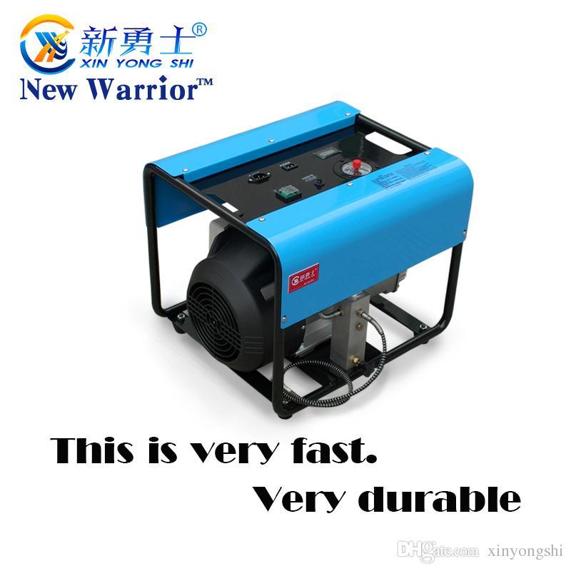 4500PSI 300bar 30mpa função de parada automática Ajustável Elétrica duplo compressor de ar do Cilindro para o enchimento de gás do tanque de ar PCP 1 pcs