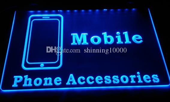 LD129-b-Mlbile-Phone-Accessories-Neon-LIght-Sign Decor Free Shipping Dropshipping Wholesale 8 colors to choose