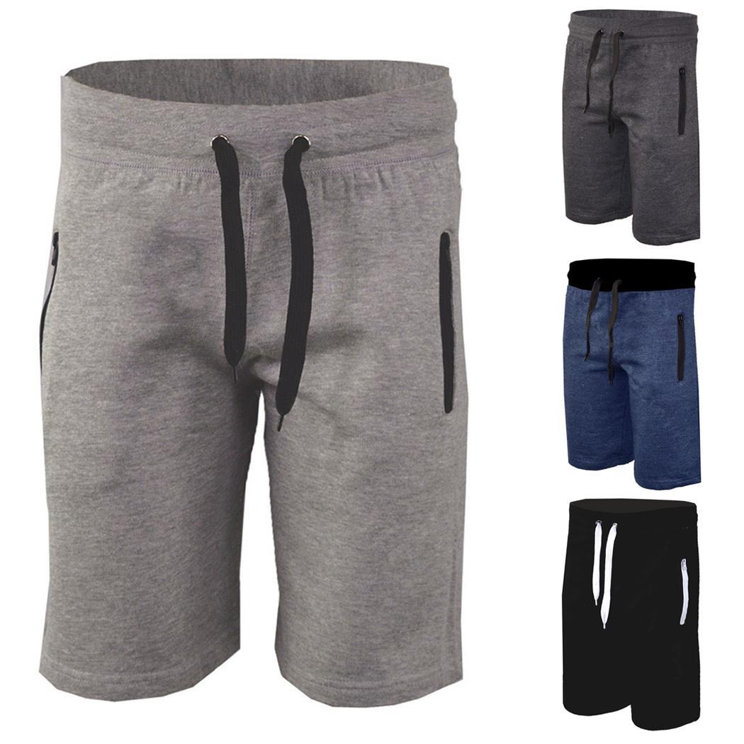 mens fleece shorts cheap