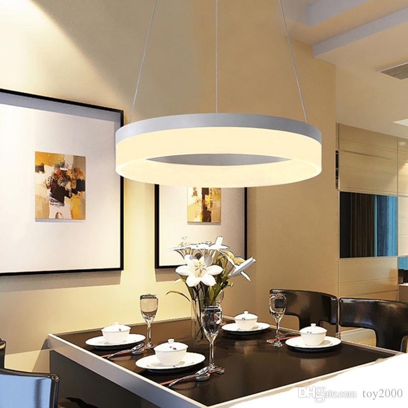 Compre Araña Moderna LED Luces Colgantes Para El Comedor Lamparas Colgantes  Pendientes Colgante Decoración Lámpara Iluminación Luminaria De Suspensión  ...