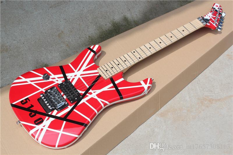 Duplo canhoto guitarra 5150 especial para canhoto