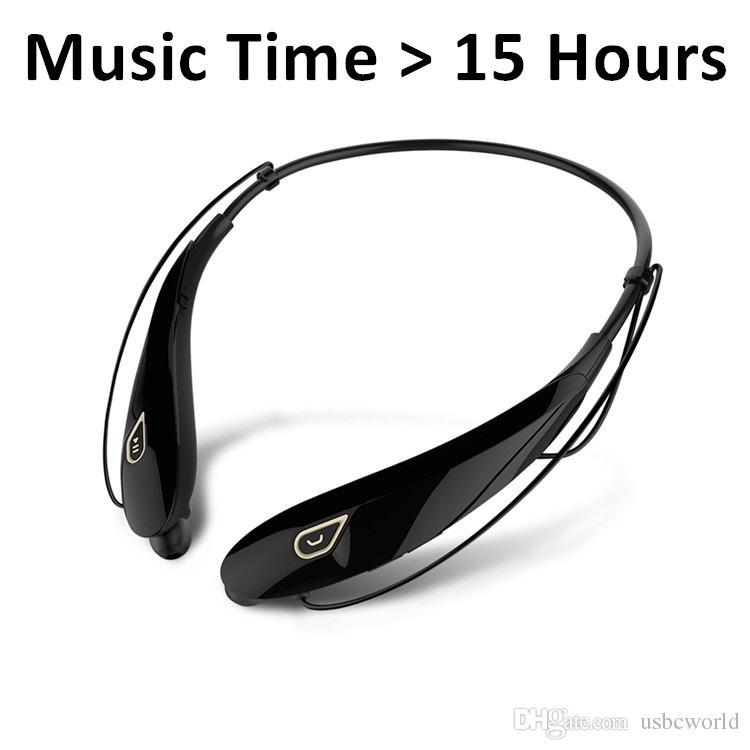 أعلى جودة سماعات بلوتوث اللاسلكية مع حزمة البيع بالتجزئة الصلبة CSR 4.1 Neckband الرياضة سماعات سماعات مع ميكروفون