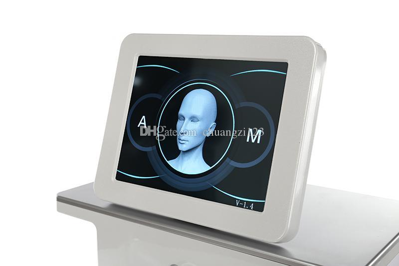 Profissão microneedle sistema de terapia levantamento de cara mico RF agulha acne Microneedling máquina de equipamentos de salão de beleza