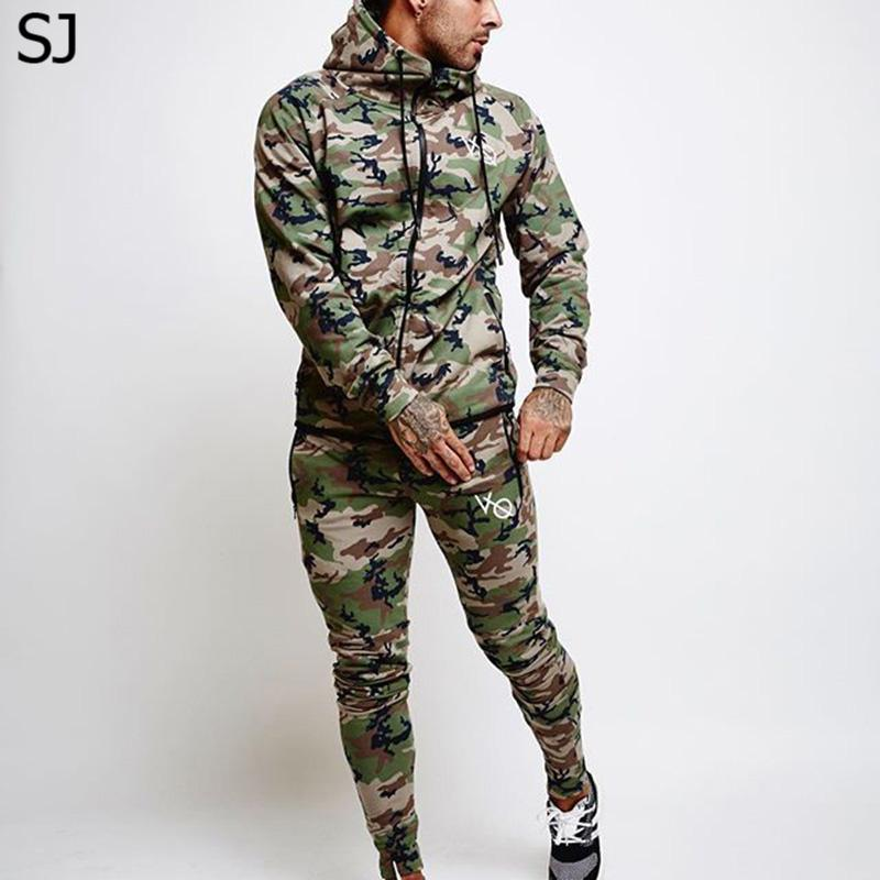 SJ 2017 Fitness Men Hoodies  Clothing Men Hoody Zipper Casual Sweatshirt Muscle Men's Slim Fit Hooded Jackets Size M-XXXL