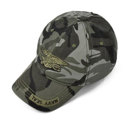 Army Camo Baseball Cap Men Women Tactical Sun Hat Letter Adjustable Camouflage