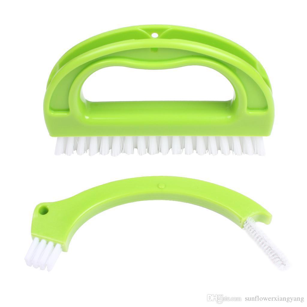 Escova de Limpeza Escova de Argamassa de Escova Multifuncional para Limpeza Profunda Design Ergonômico Excelente Uso no Chão de Cozinha de BanheiroOutros Agregados Familiares
