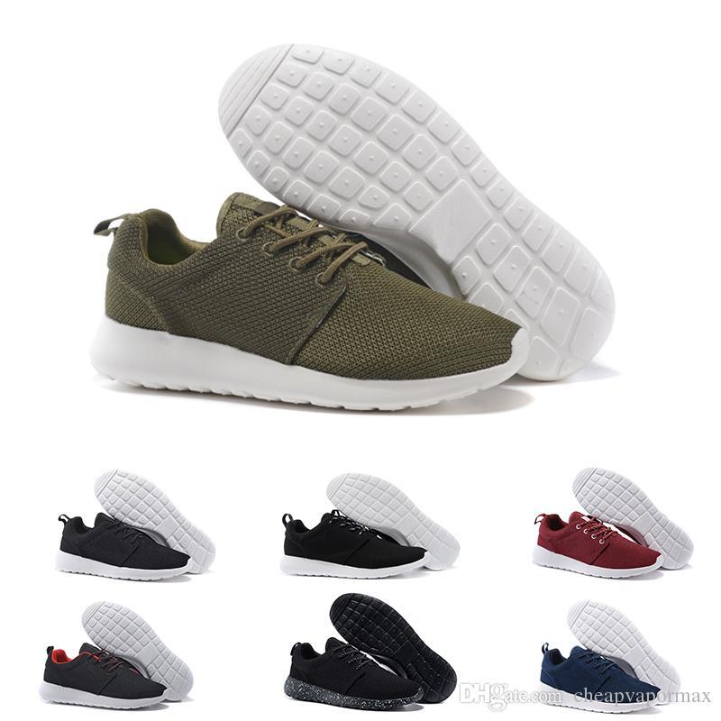 2018 New London Olympic rosso Scarpe da corsa per uomo Donna Sport London Olympic Shoes Donna Uomo Triple Nero Bianco Scarpe da ginnastica Sneakers taglia 36-45