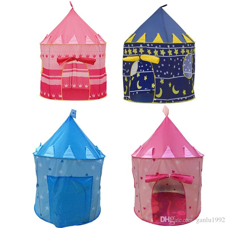 online retailer 1579d e7fa6 Child Tents Multicolor Game Castle Prince Princess Children Play Indoor  Creeping House Toys Mongolian Yurts Small Size 33ly W Buy Play Tent Kids  Tent ...
